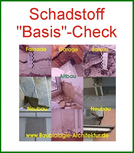 Schadstoffcheck Basis-Check